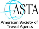 Member of the American Societu of Travel Agents